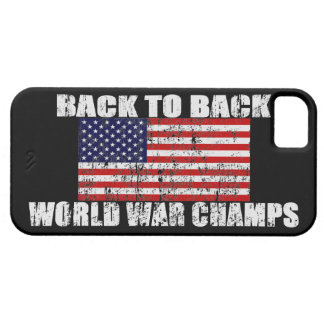 Los campeones de la guerra mundial apenaron la caj iPhone 5 Case-Mate cárcasa