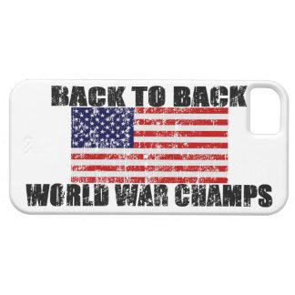 Los campeones de la guerra mundial apenaron la caj iPhone 5 carcasas