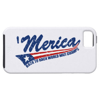 Los campeones de la guerra mundial de MERICA apena iPhone 5 Case-Mate Protector