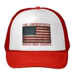 Los campeones indiscutibles de la guerra mundial ( gorra
