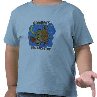 Los campistas se divierten S'More Camiseta