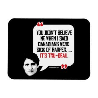 Los canadienses estaban cansados de Harper - es Imán De Vinilo