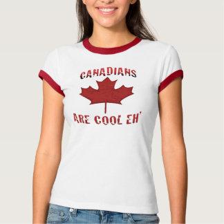Los canadienses son Eh camiseta canadiense fresca Poleras