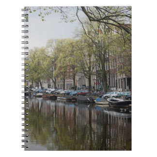 Los canales de Amsterdam Libro De Apuntes Con Espiral