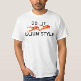 los cangrejos lo hacen el estilo 2 de Cajun Playera