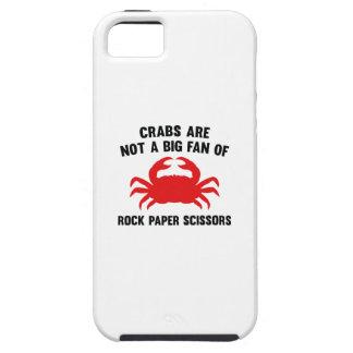 Los cangrejos no son un fan grande de las tijeras funda para iPhone 5 tough