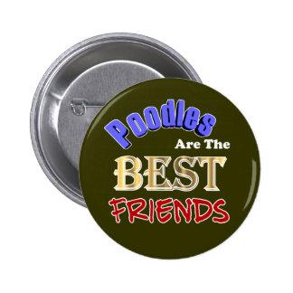 Los caniches son los botones de los mejores amigos