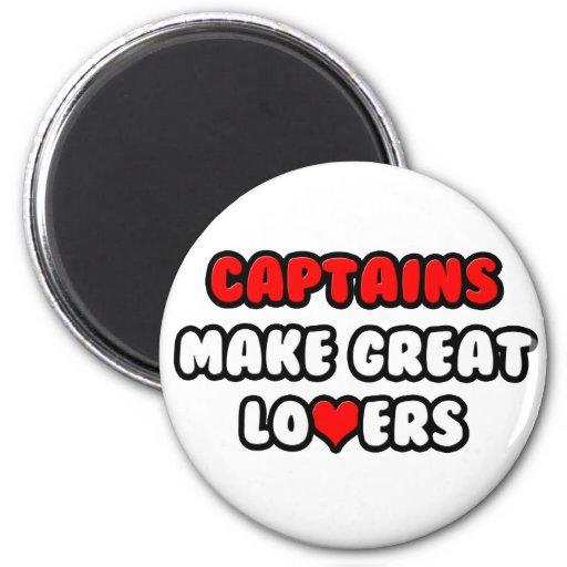 Los capitanes hacen a grandes amantes imán redondo 5 cm