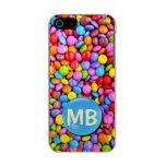 Los caramelos coloridos personalizan la foto funda para iPhone 5 incipio feather shine