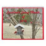Los cardenales para cada mes 2016 pueden cambiar calendarios