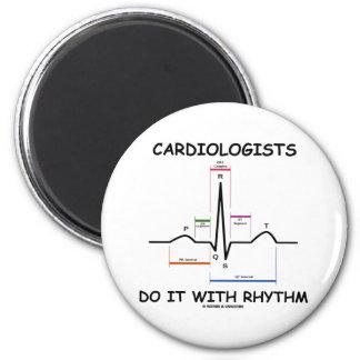 Los cardiólogos lo hacen con el ritmo (ECG/EKG) Imán Redondo 5 Cm