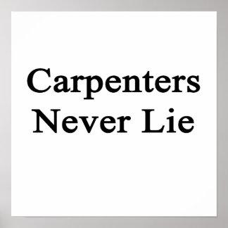 Los carpinteros nunca mienten poster