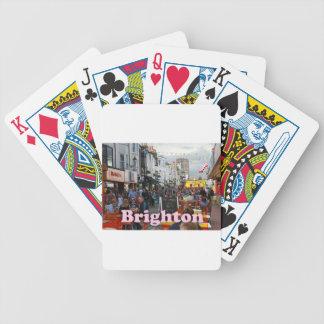 Los carriles Brighton Barajas De Cartas