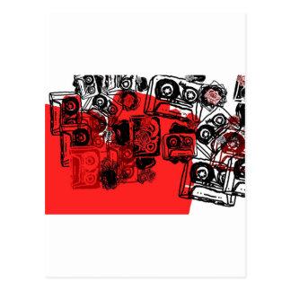 """¡Los """"casetes"""" diseñan hecho para los soñadores Postal"""