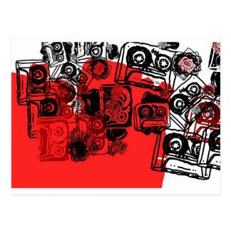 """¡Los """"casetes"""" diseñan hecho para los soñadores Tarjetas Postales"""