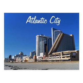 Los casinos en Atlantic City Tarjeta Postal