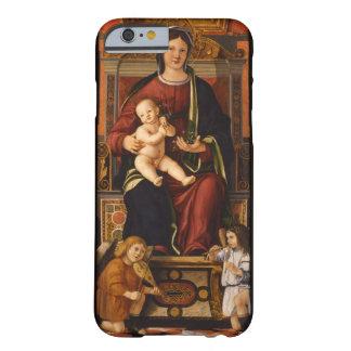 """""""Los casos de encargo de la Virgen y del niño"""" Funda De iPhone 6 Barely There"""