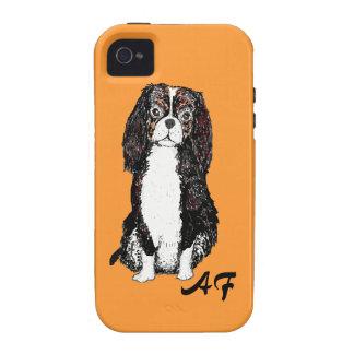 Los casos del iPhone del perro del perro de aguas iPhone 4/4S Fundas