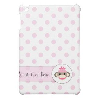 Los casos lindos del iPad por el calcetín Monkey S