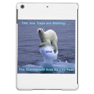 Los casquetes glaciares polares están derritiendo funda para iPad air