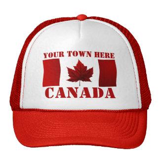 Los casquillos de Canadá personalizaron los casqui Gorros