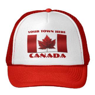 Los casquillos de Canadá personalizaron los Gorras