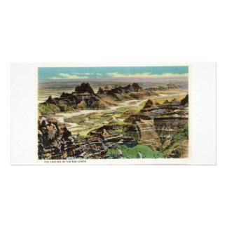 Los castillos, Badlands, Dakota del Sur Tarjetas Fotográficas