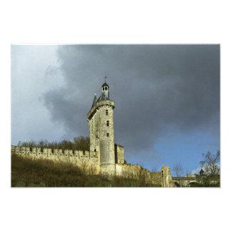 Los castletheis de Chinon del castillo francés en  Fotografía