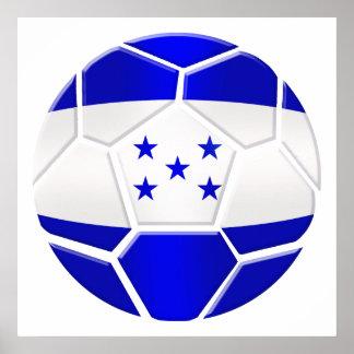 Los Catrachos Honduras soccer ball gifts Print