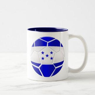 Los Catrachos Honduras soccer ball gifts Two-Tone Coffee Mug
