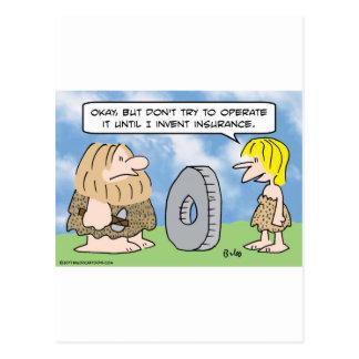 Los Cavewoman inventan seguro Postales