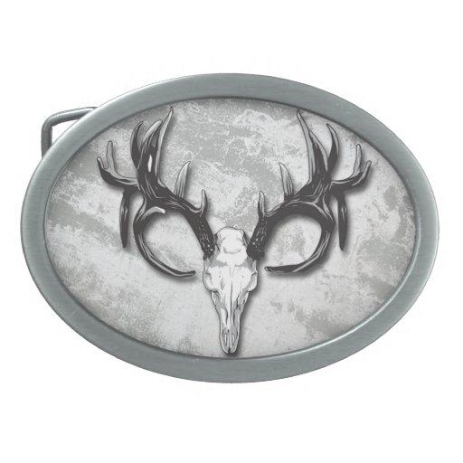 Los cazadores al aire libre sirven la hebilla del  hebilla de cinturón oval