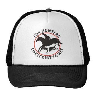 Los cazadores de Fox tienen gusto de él sucio y mo Gorro De Camionero