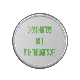 Los cazadores del fantasma lo hacen altavoz bluetooth