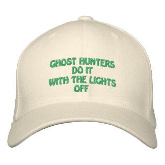 Los cazadores del fantasma lo hacen gorras de beisbol bordadas