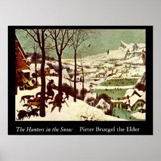 Los cazadores en la nieve - 1565 posters