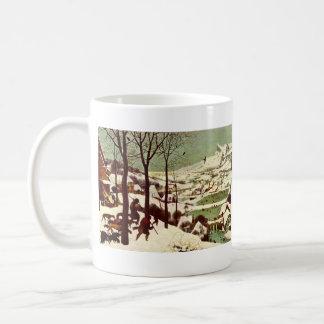 Los cazadores en la nieve - 1565 taza