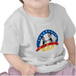 Los cerdos opulentos GOP-Codiciosos, Romney anti, Camisetas