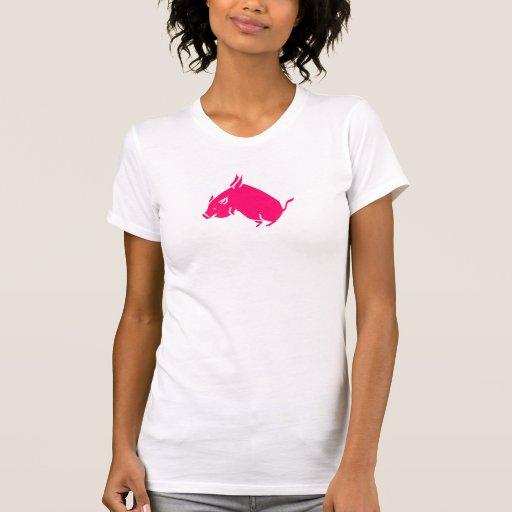 los cerdos vuelan tee shirts