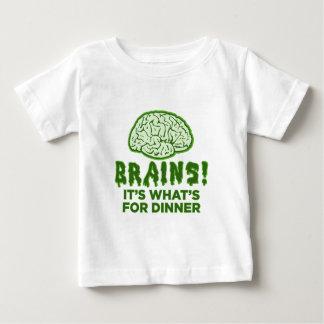 Los cerebros, es cuál está para la cena t-shirt