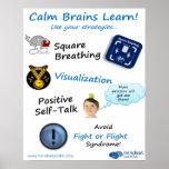 Los cerebros tranquilos aprenden el poster para Br
