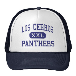 Los Cerros Panthers Middle Danville Trucker Hat