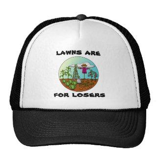 Los céspedes están para los perdedores, gorra
