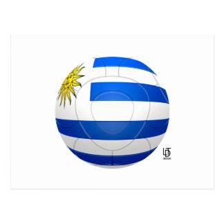 Los Charrúas - fútbol de Uruguay Postal