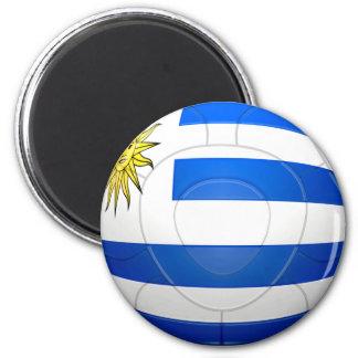 Los Charrúas - Uruguay Football Magnet