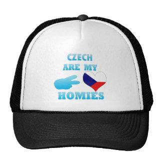 Los checos son mi Homies Gorras