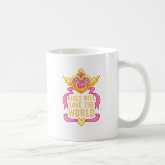 Los chicas ahorrarán el mundo taza