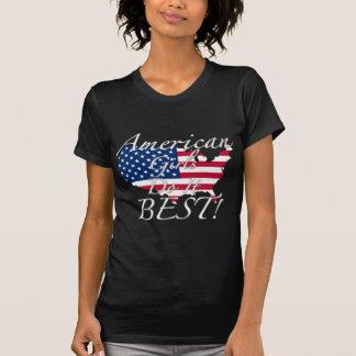 ¡Los chicas americanos lo hacen mejor! Camiseta