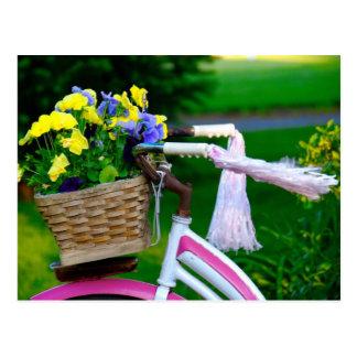 Los chicas apenas quieren divertirse bicicleta ro tarjetas postales