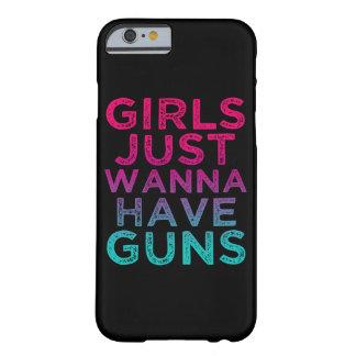 Los chicas apenas quieren tener caja divertida del funda barely there iPhone 6